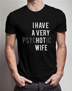 gifts: Hot Wife Black Tshirt!