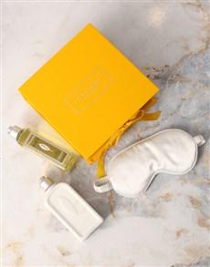 gifts: LOccitane Verbena Shower Gel and Eye Mask Hamper!