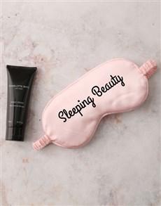 gifts: Pink Sleeping Beauty Eye Mask Hamper!