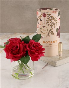 gifts: Botany Large Red Silk Rose Diffuser!
