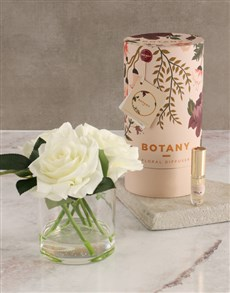 gifts: Botany Large Cream Silk Rose Diffuser!