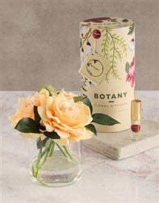 gifts: Botany Large Peach Silk Rose Diffuser!