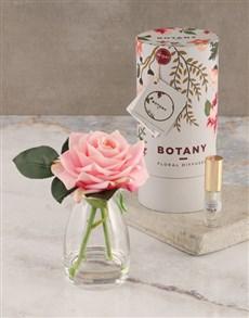 gifts: Botany Small Pink Silk Rose Diffuser!