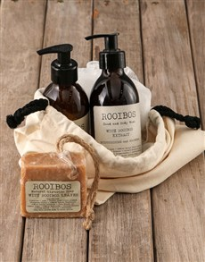 gifts: Mens Rooibos Bath Time Bag!