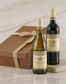 gifts: Zonnebloem Sav Blanc Duo Gift Box!