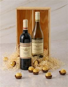 gifts: Zonnebloem and Ferrero Rocher Gift Box!