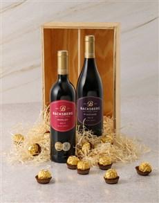 gifts: Backsberg and Ferrero Rocher Gift Box!