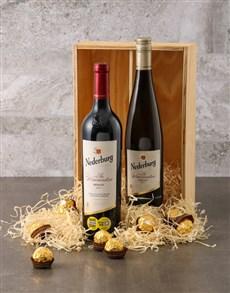 gifts: Nederberg Winemasters and Ferrero Rocher Gift Box!