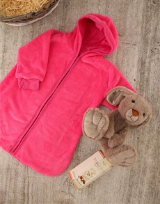 gifts: Baby Bunny Basket!