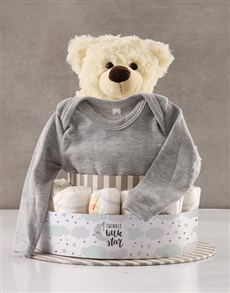 gifts: You Are My Sunshine Baby Nappy Cake!