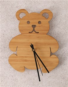 gifts: Little Bear Baby Clock!