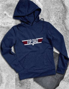 gifts: Top Dad Navy Hoodie!