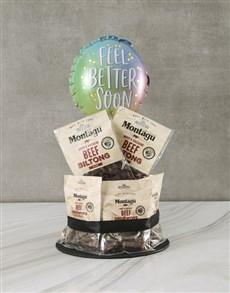 gifts: Get Well Biltong Cake!