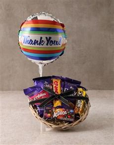 gifts: Cadbury Thank You Basket Hamper!