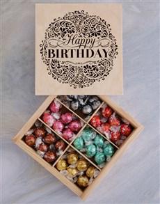 gifts: Lindt Chocolate Birthday Treasure Box!
