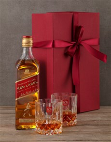 gifts: Johnnie Walker Red Gift Box!