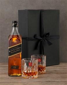 gifts: Johnnie Walker Black Gift Box!