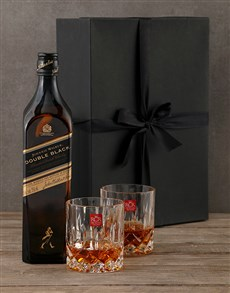 gifts: Johnnie Walker Double Black Gift Box!