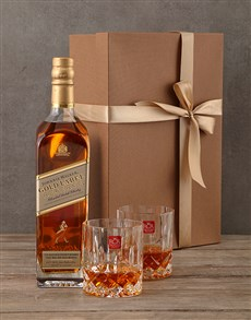 gifts: Johnnie Walker Gold Gift Box!