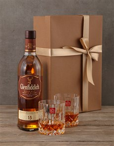 gifts: Glenfiddich 15 Year Gift Box!