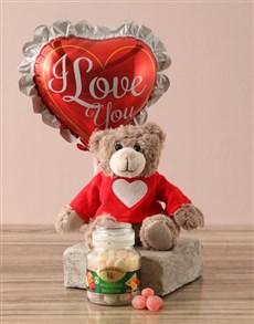 gifts: Love You Candy Jar Hamper!
