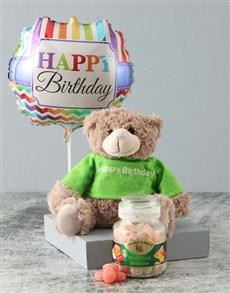 gifts: Happy Birthday Candy Jar Hamper!