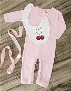 gifts: Sweet Cherry Pink Outfit!