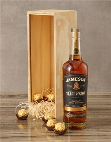 gifts: Jameson Select Reserve Whiskey Crate!