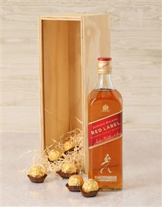 gifts: Johnnie Walker Red Label Crate!