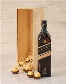 gifts: Johnnie Walker Double Black Crate!