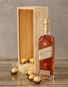 gifts: Johnnie Walker Gold Label Reserve Crate!