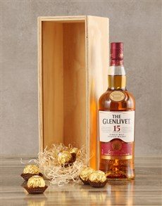 gifts: Glenlivet Fifteen Year Crate!