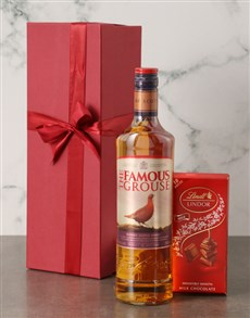 gifts: The Famous Grouse Scotch Whisky Set!