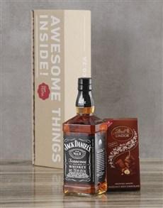 gifts: Jack Daniels Whiskey Set!