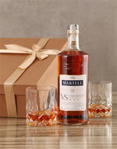 gifts: Martell VS Cognac Set!