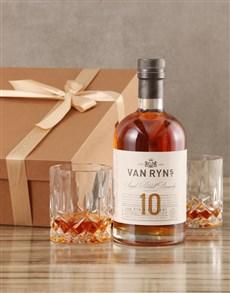 gifts: Van Ryns Ten Year Vintage Brandy Set!
