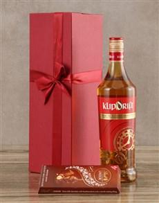 gifts: Klipdrift Export Brandy Set!