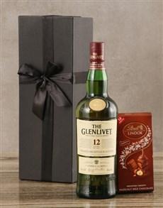gifts: Glenlivet Twelve Year Scotch Whisky Set!