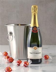 gifts: Taittinger Brut Champagne Gift Hamper!