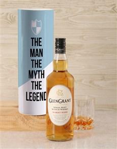 gifts: Glen Grant The Man The Legend Whisky Tube!