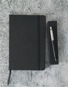 gifts: Parker Pen Black Gift Set!