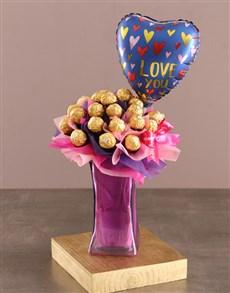 flowers: Regal Ferrero Rocher Arrangement!
