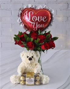 flowers: Whole Nine Yards Gift Hamper!