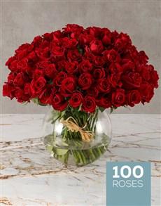 flowers: Ravishing Garden of Red Roses!