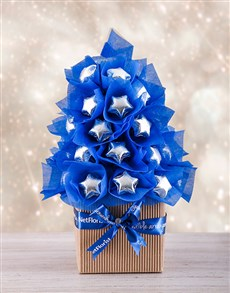 gifts: Blue and Silver Edible Tree!