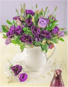 flowers: Purple Lizianthus Elegance!