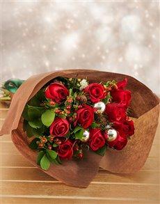 flowers: Christmas Bouquet!