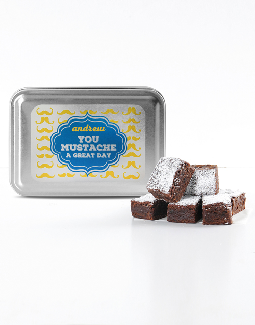 bakery: Personalised Great Day Tipsy Tart Brownies!