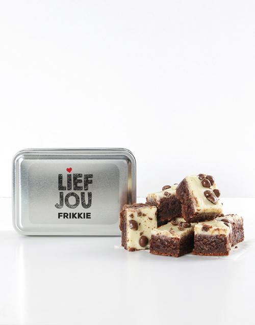 personalised: Personalised Lief Jou Whisper Chocolate Brownies!