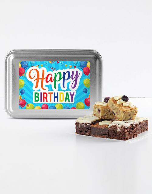 birthday: Happy Birthday Brownie Tin!